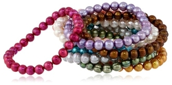 Honora - Freshwater Cultured Pearl Stretch Bracelets