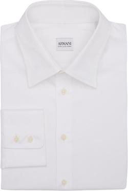 Armani Collezioni - Tipped Linen Pocket Square