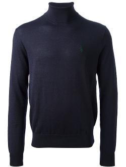 Ralph Lauren Blue  - Turtle Neck Sweater