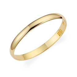 Wedding Band by Lovearing - Plain Light Weight Wedding Band