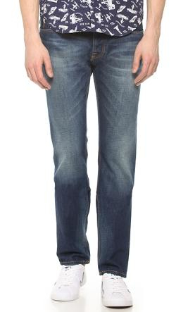 Nudie Jeans Co.  - Steady Eddie Whistle Blue Jeans
