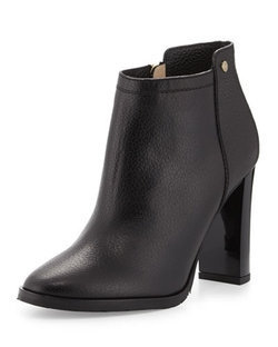 Jimmy Choo	   - Hart Grained Leather Ankle Boots
