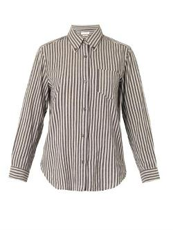 Isabel Marant Étoile  - Will Striped Cotton Shirt