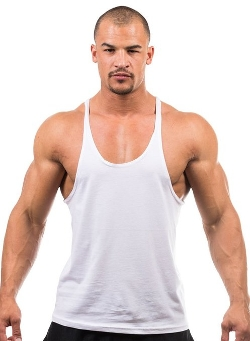 Louisville - Stringer Y Back Cotton Tank Top