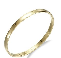 Kate Spade New York - Heart of Gold Polished Bangle