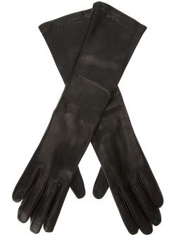 Giorgio Armani  - Long Leather Gloves