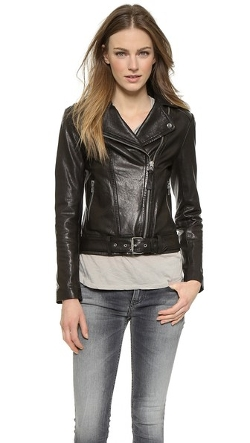 Mackage - Florica Leather Moto Jacket