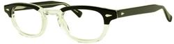 Moscot - Lemtosh Black Crystal Glasses