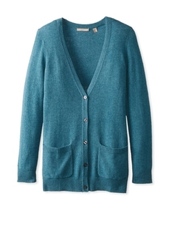 Cashmere Addiction  - Button Down Boyfriend Cardigan Sweater