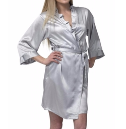Dynasty Robes - Short Silk Robe