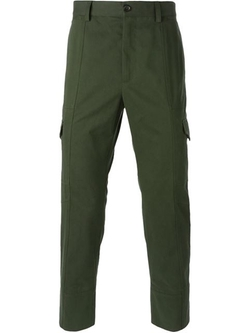Dolce & Gabbana - Cargo Cropped Trousers