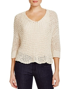 Eileen Fisher - Open Knit Sweater