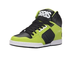 Osiris - NYC 83 Lime Hi Top Trainers
