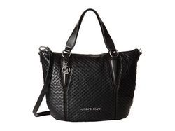 Armani Jeans  - Textured Ecoleather Tote Bag