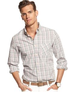 Club Room  - Big and Tall Foz Plaid Shirt