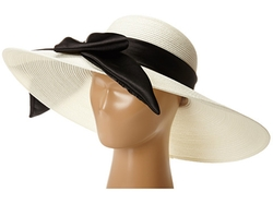 Scala -  Polybraid Big Brim Sun Hat