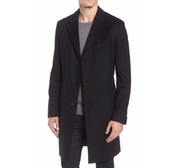 Hugo Boss    - Nye Wool & Cashmere Top Coat