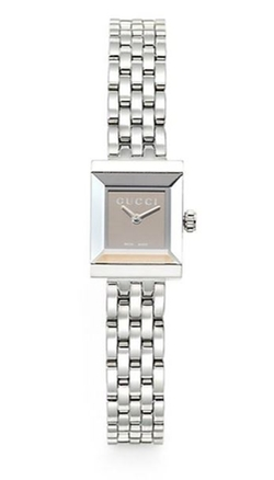 Gucci  - G-Frame Stainless Steel Square Watch