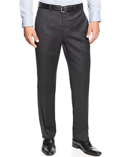Lauren Ralph Lauren - Flannel Flat-Front Dress Pants