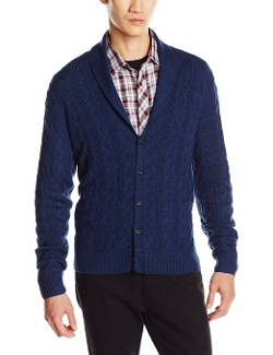 Original Penguin - Cable 5 Button Shawl Collar Cardigan