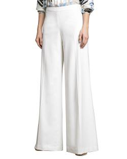 Carolina Herrera   - Lightweight Wide-Leg Pants