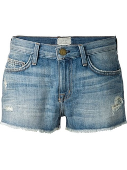 Current/Elliott - Cut Off Denim Shorts
