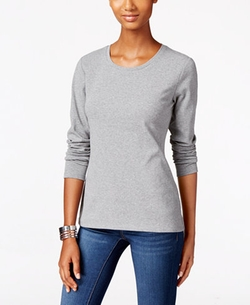 Style & Co. - Crew-Neck Top