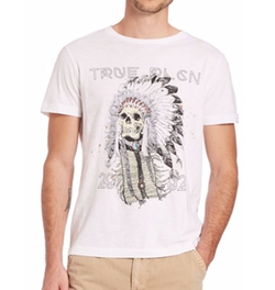 True Religion - 4th Avenue Headdress Tee Shirt