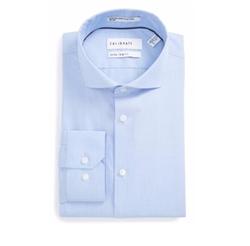 Calibrate - Extra Trim Fit Stretch No-iron Dress Shirt