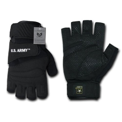 Rapdom Tactical - Army Half Finger Gloves