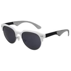 Birch - Wayfarer Half Frame Sunglasses