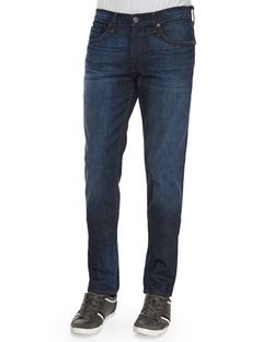 J Brand Jeans -  Tyler Revelled Slim-Fit Denim Jeans