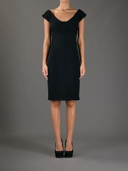 DSQUARED2 - boat neck jersey dress