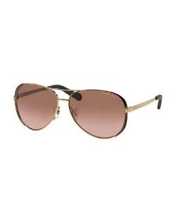 MICHAEL Michael Kors  - Chelsea Soft Touch Aviator Sunglasses