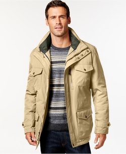 London Fog - Big And Tall 3-In-1 Field Coat
