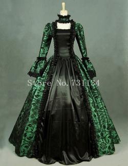 Ali Express - Brocade Victorian Dress
