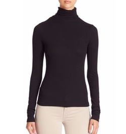 J Brand - Ribbed Turtleneck Top