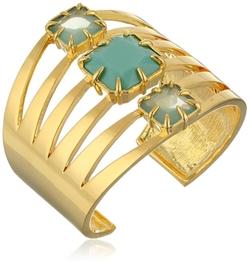 Vince Camuto - Gold-Tone Cutout Cuff Bracelet