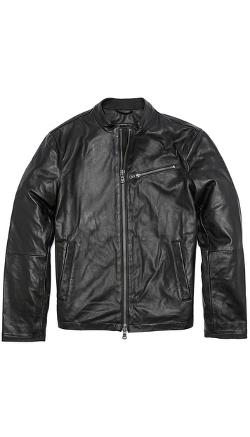 John Varvatos Star USA  - Moto Leather Jacket