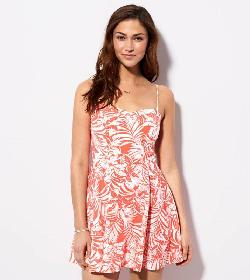 American Eagle - AE PRINTED SUNDRESS