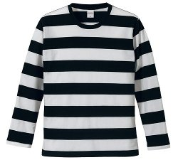 United Athle - Bold Stripe Long Sleeve Tee Shirt
