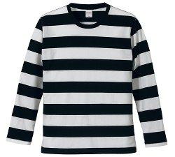 United Athle - Bold Stripe Long Sleeve Tee Shirt