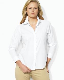 Lauren Ralph Lauren  - Plus Non Iron Dress Shirt