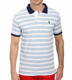 U.S. Polo Assn. - Slim Fit Slub Polo Shirt