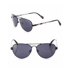 Toms - Maverick Solid Aviator Sunglasses