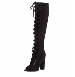 Kendall + Kylie - Emma Gladiator Knee Boot