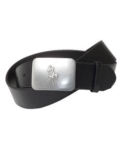 Polo Ralph Lauren - Leather Logo Plaque Belt
