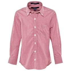 Gant - Red And White Gingham Shirt