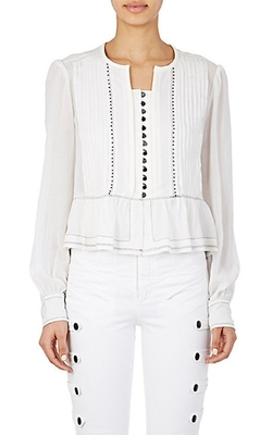 Isabel Marant  - Beaded Randal Blouse