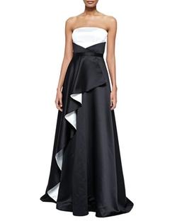 Nha Khanh - Angel Two-Tone Cascade Gown